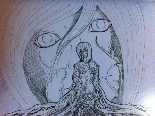 Dessiner 16: Femme Racines
