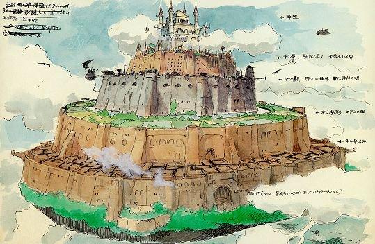 """chanson """"le château dans le ciel"""""""