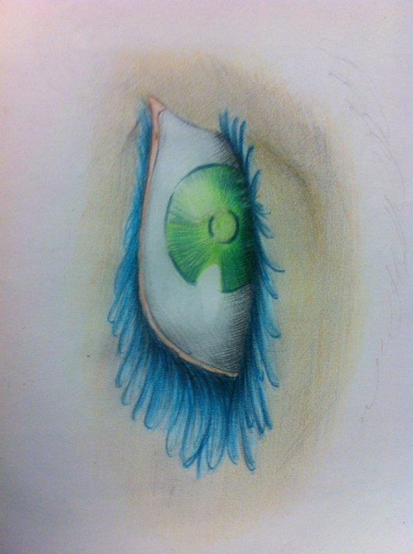 dessiner 20: Oeil de Éloria