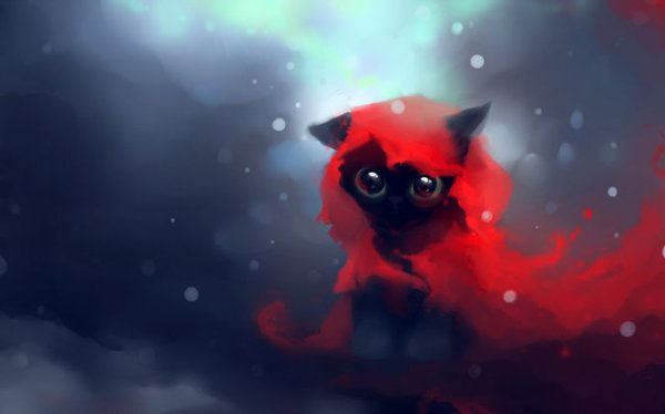 Le petit Chaperon rouge ^^(en version chat ^^)