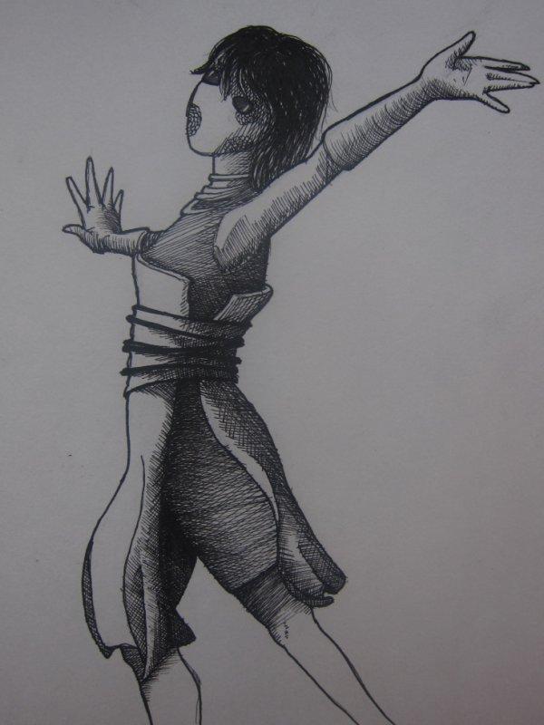 Dessiner 29: Danseuse