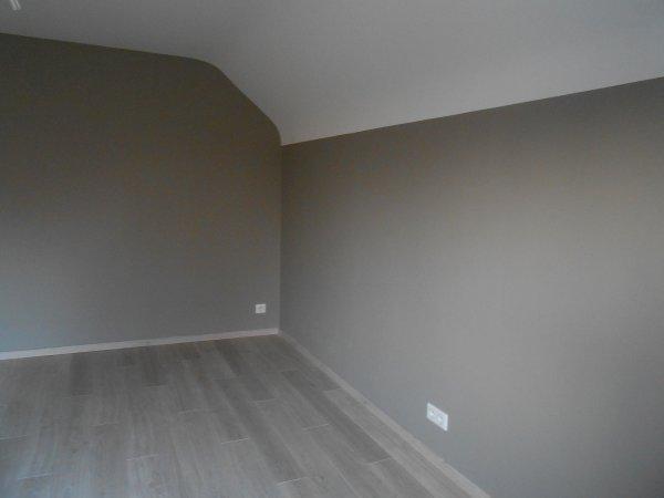 mise en couleur des chambres de l'étage