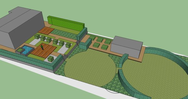 Le futur jardin