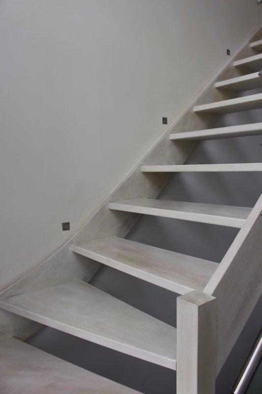 Blanchir un escalier