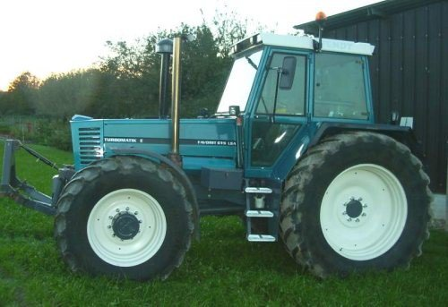 fendt 615 bleu petrole
