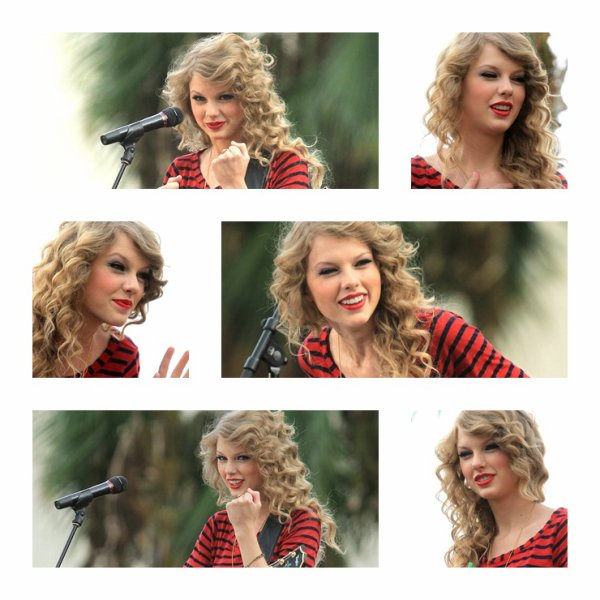 Taylor a donnée un concert surprise à Hollywood - 29 Octobre -