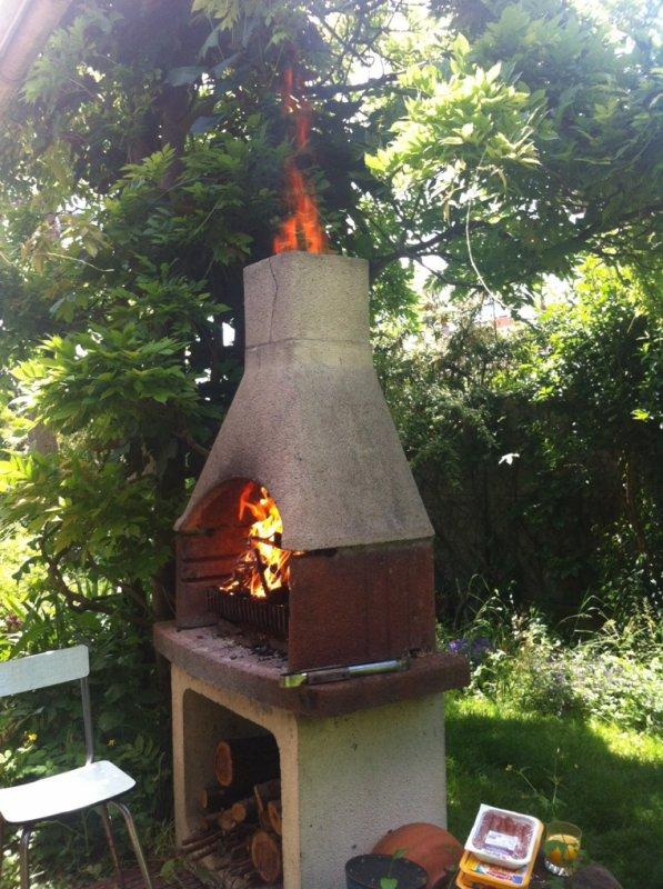 Mes belles petites flammes du barbecue