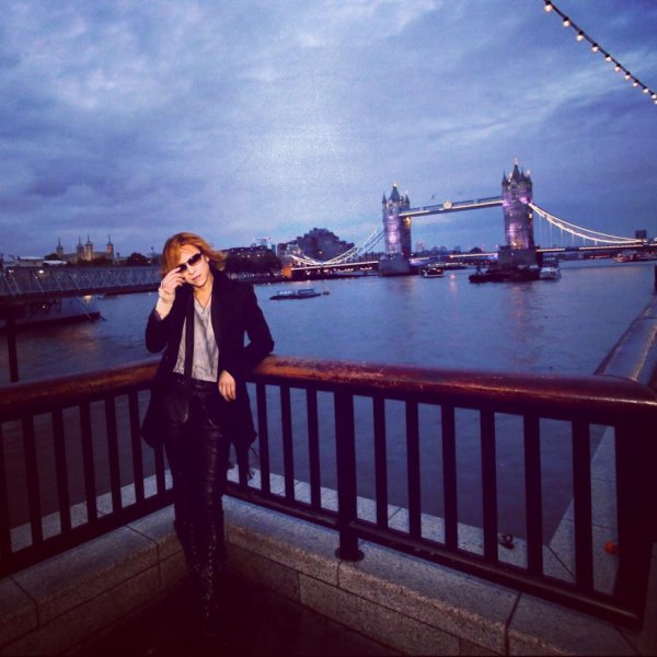 Yoshiki in London