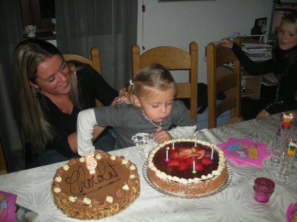 l'anniversaire de ma puce