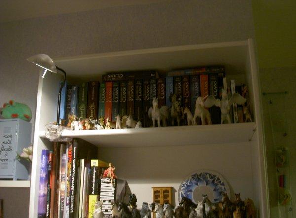 Ma collection vs étagères, voilà d'où j'en suis !
