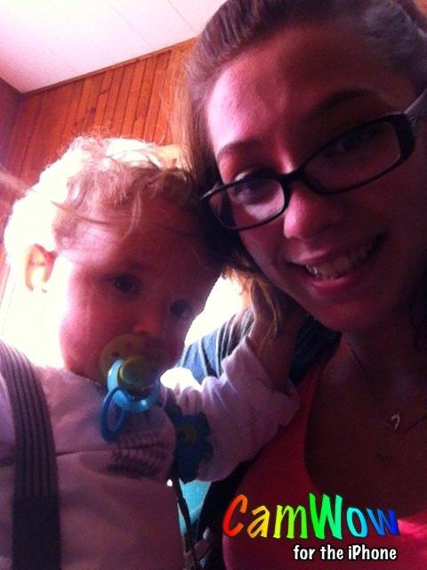 Mon bébé 1 an déjà. #Noa