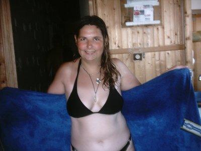 Mwa en maillot de bain