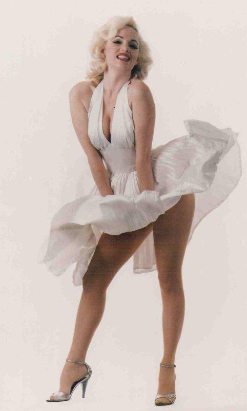 "Marqueterie ""Stars  Americaine "" Marilyn Monroe"