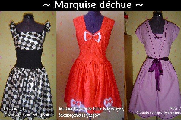 Marquise Déchue - couture