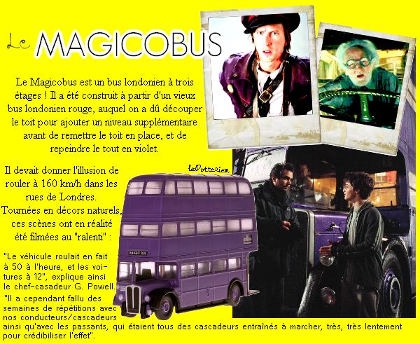 « Bienvenue à bord du Magicobus, transport d'urgence pour sorcières et sorciers en perdition ! »