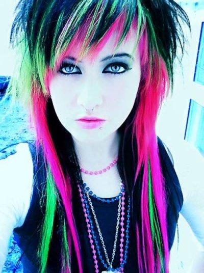 Emo hairs !!!!! so geil