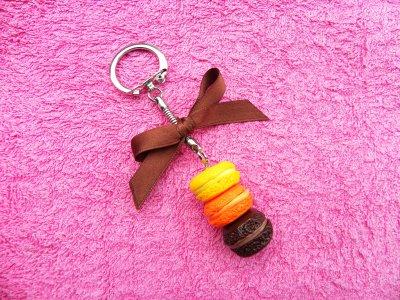 Trio de macarons : Agrumes & Chocolat