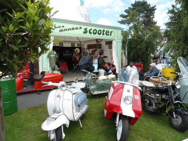 Le Mans Classic c'est aussi des 2 roues..