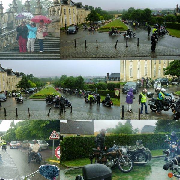 American Spirit Festival à Mamers le 28 juin 2014 ( 1ère séquence -balade motos)