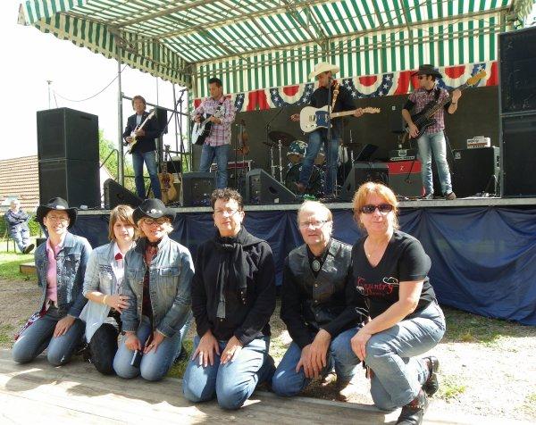 Américan Spirit Festival à MAMERS le 29 juin 2014 (4ème sequence les MARIOTTI)