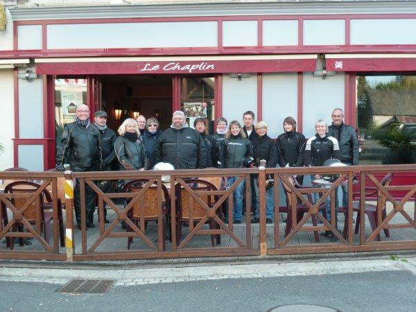 """Balade du B3C en Marais Poitevin le 4&5 octobre 2014 """" journée du samedi 4"""""""