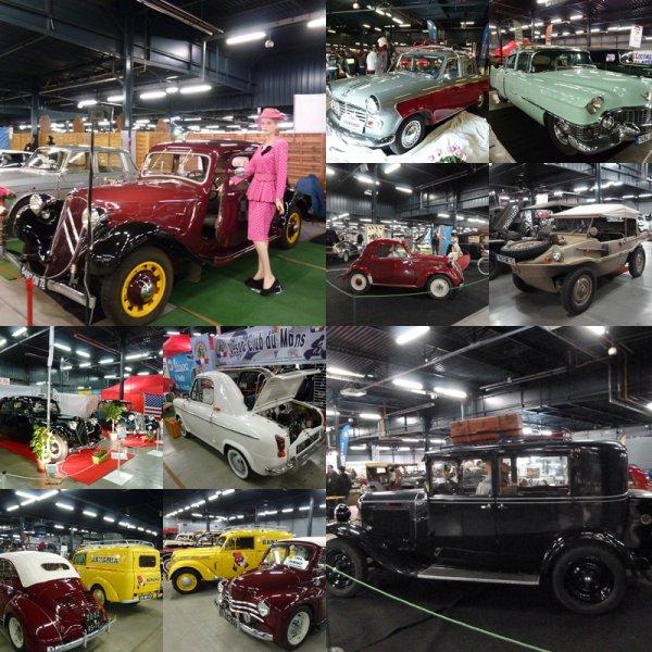 Auto Moto Rétro Centre des expositions du Mans 2&3 avril 2016