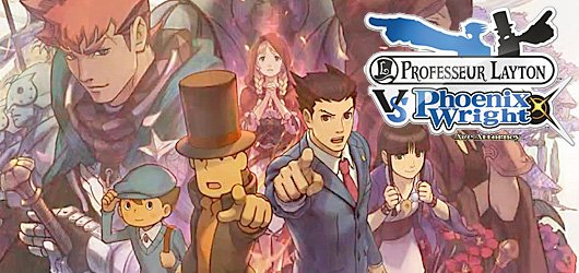 Pr layton VS Phoenix Wright