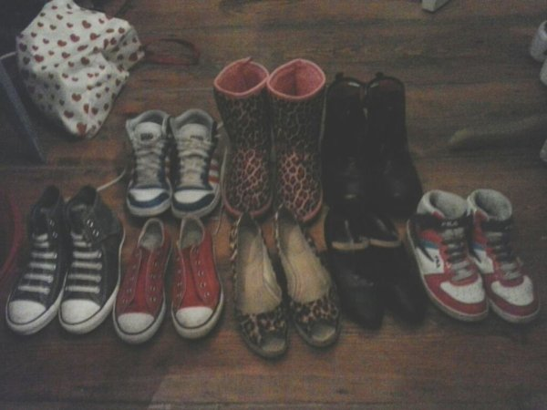 Questionnaire sur mes chaussures