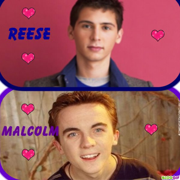 Reese et Malcolm
