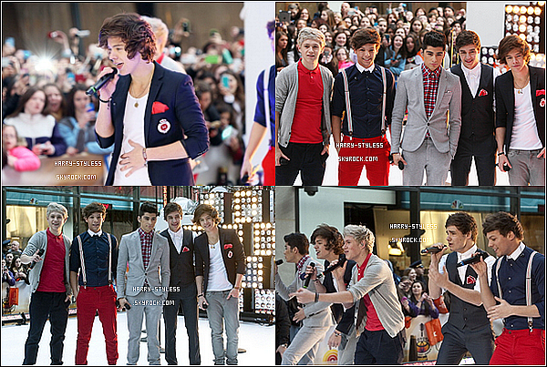 "__ _____ 12/03/12 :  les garçons ont donné une nouvelle séance de dédicace à Sunrise Mall à New York. - Le groupe amenant des chips et autres sucreries aux fans campant devant les studios du Today Show. - One Direction dans l'émission TV New Yorkaise ""The Today Show"". ."