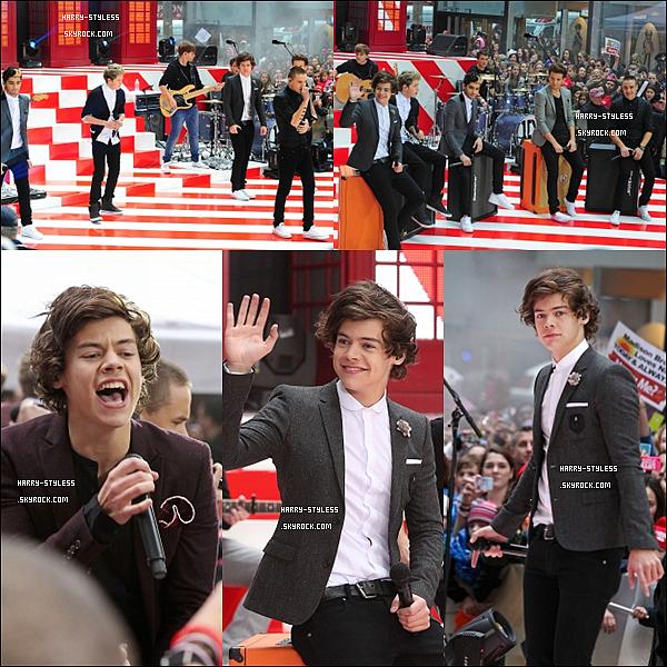 __ _______________ 13/11/12 : Les garçons étaient ce matin à l'émission The Today Show. .