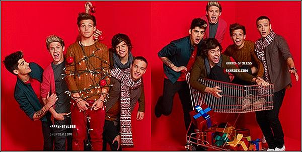 __ 17/11/12 : Voici un nouveau photoshoot d'one direction pour le magazine Parade..