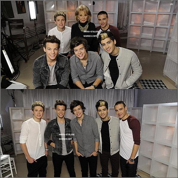 __ 19/11/12 : Les garçons pendant leurs interview pour leurs album Take Me Home..