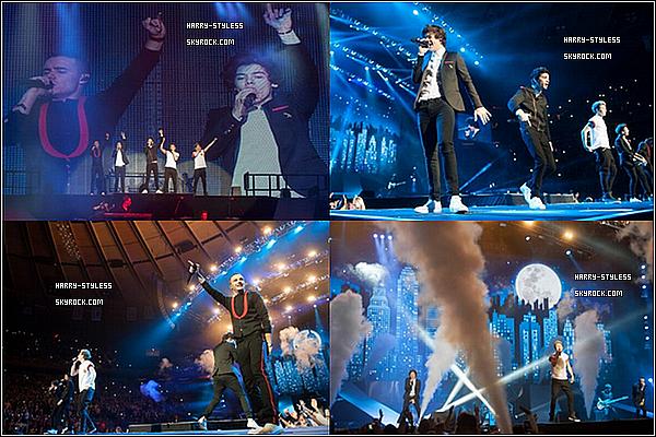 __ 04/12/12 : Les garçons ont donner un concert au Madison Square Garden, dans New York..