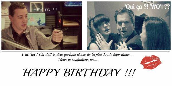 Happy Birthday Michael ♥.