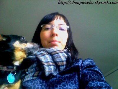moi et mon ti chien (l)