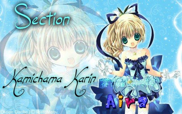 Début de Section Kamichama Karin ( Chu )