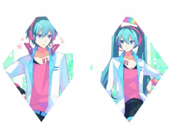♪ Miku et Mikuo Hatsune ♪