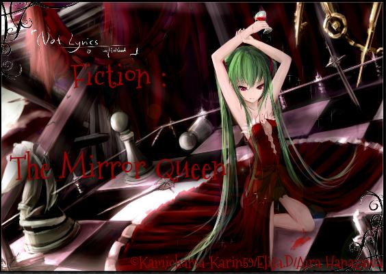 Fiction : The Mirror Queen / Chapitre 3