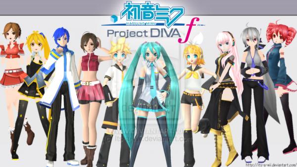 La série Project Diva !