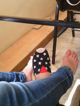 pour ces qui demande la photo de mes pieds ♥ avis !!