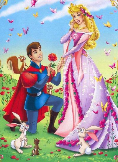 Dans la vie, le prince charmant se tire avec la mauvaise princesse...