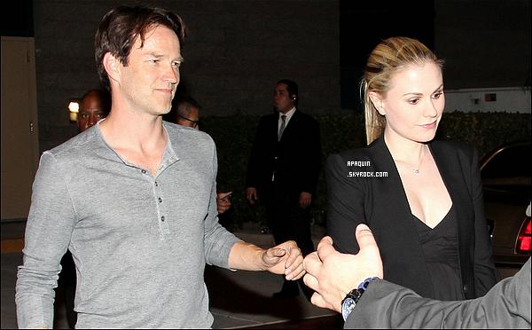 09/06/2012 - Anna se baladait à LA, au soir elle assistait à un match de boxe avec son mari à Las Vegas.
