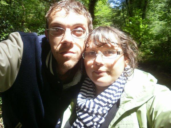 Mickaël et moi.