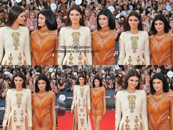 15 juin 2014: Kendall et Kylie étaient présente au Much Music Vidéo Awards à Toronto au Canada
