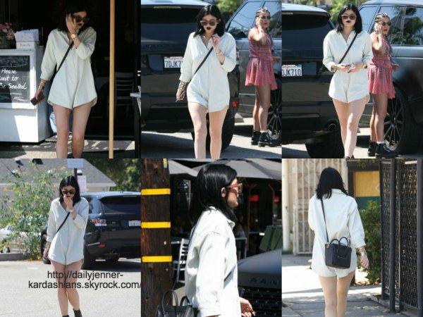 22 août 2014: Kylie a été vue dans les rues de Los Angeles