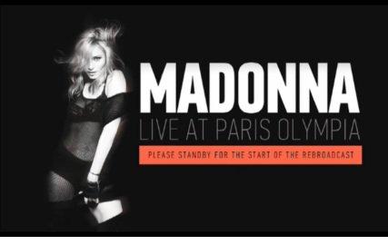 Madonna à l'Olimpia se fait huer :S