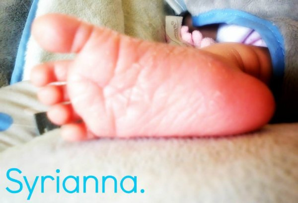 Ton petit pied ma princesse <3