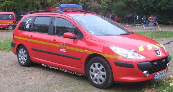 2011 - SDIS 37 : Cross départemental d'Azay sur Cher