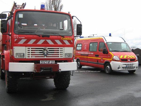 2012 - SDIS 37 : Journée Portes Ouvertes au Centre de Secours de St Flovier